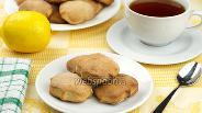 Фото рецепта Печенье из гречневой муки с творогом