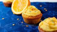 Фото рецепта Апельсиновые капкейки