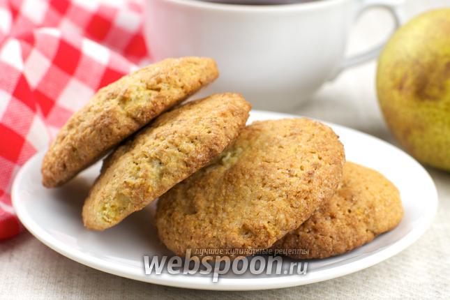 Фото Песочное печенье с грушей