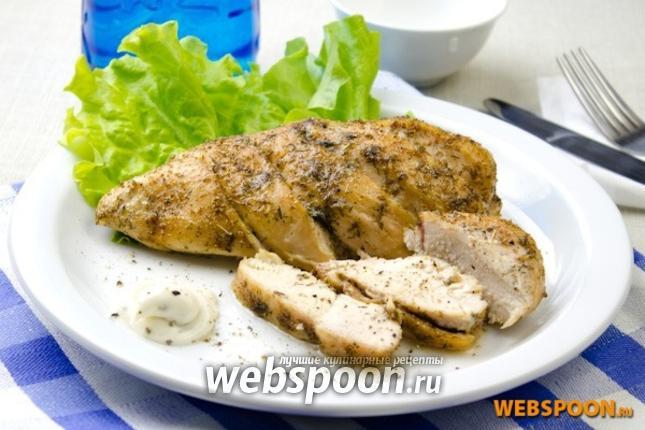 Фото Куриные грудки запечённые в пряной глазури