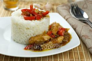 Курица по тайски видео рецепт