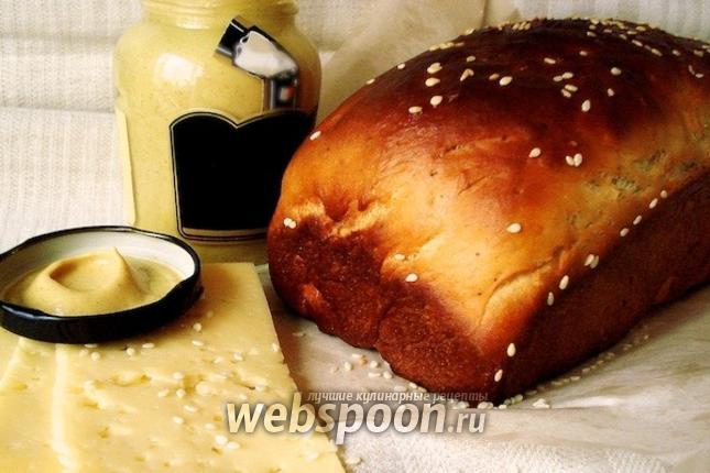 Фото Хлеб с дижонской горчицей и прованскими травами
