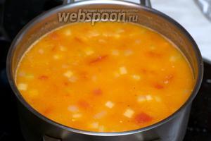 Затем добавить соль по вкусу и дать остыть блюду  до комнатной температуры.