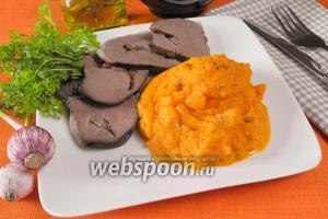 Морковное пюре с кумином