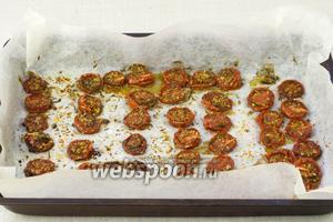 Через 8-10 часов помидоры можно доставать. Использовать вяление помидоры в пищу лучше сразу.