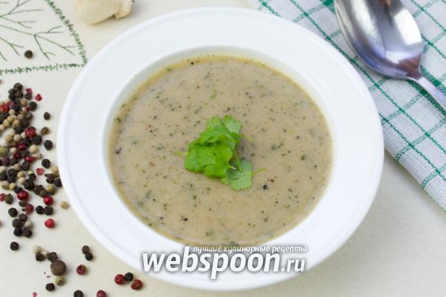Фото Хлебно-чесночный суп
