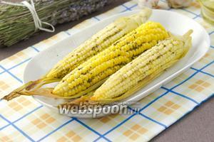 Запечённая кукуруза в прованских травах