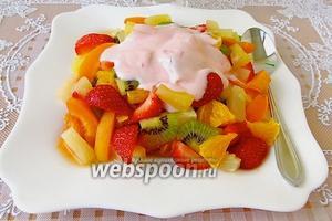 Десертный салат «Пища богов»