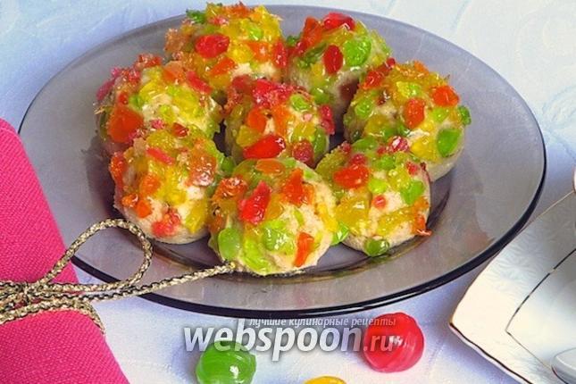 Фото Творожные шарики в леденцовой карамели