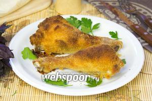 Куриные ножки в кляре в духовке