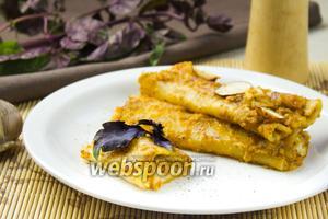 Каннеллони с сыром и томатным пюре