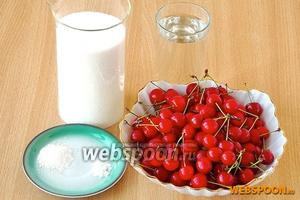 Чтобы сварить лучшее варенье из черешни, нужно взять спелую красную черешню, сахар, воду, лимонную кислоту и ванилин.