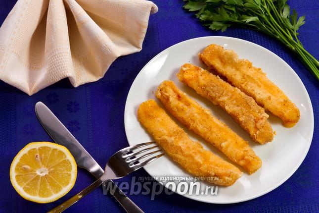 Фото Сырные палочки в кляре