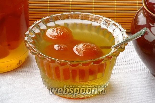 Фото Варенье из абрикосов с ядрышками