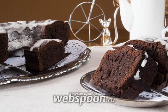 Фото Шоколадный кекс с корицей