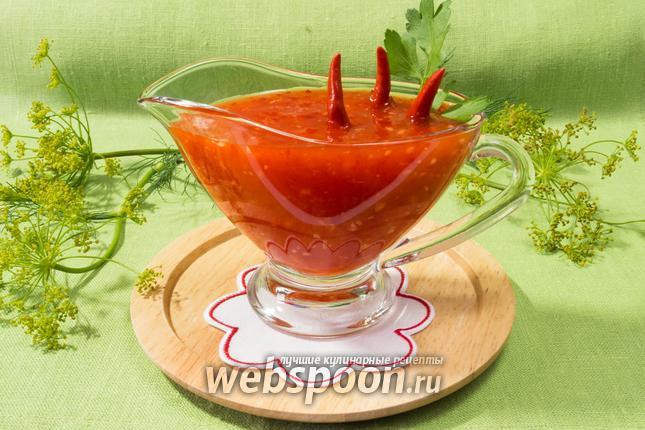 Фото Сладкий соус чили