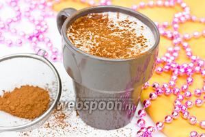 Коктейль «Какао с мороженым»