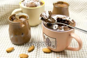Шоколадный мусс и суфле в одном рецепте