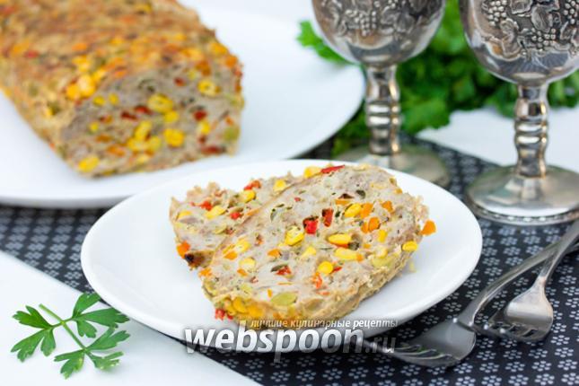 Фото «Разноцветный» мясной хлебец