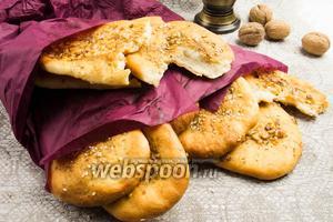 Индийские лепёшки наан