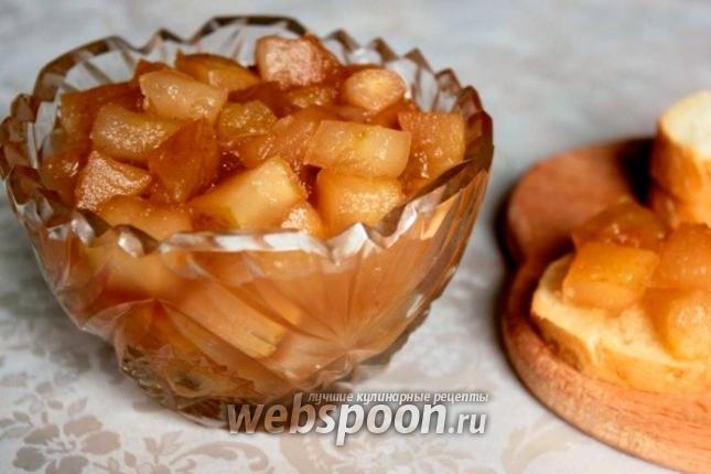 Рецепт Варенье из яблок с корицей в хлебопечке
