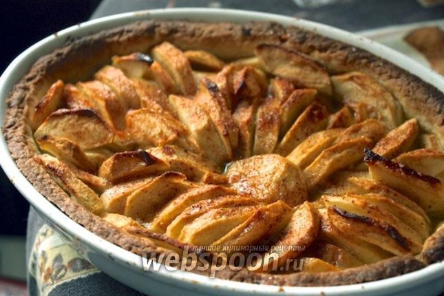 Фото Французский яблочный пирог