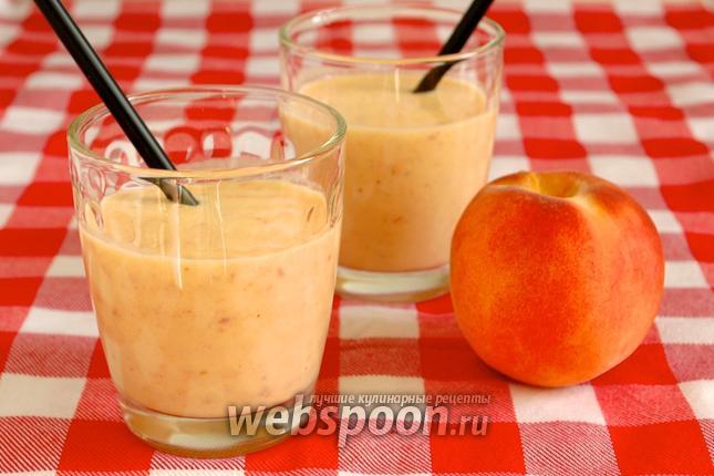 Фото Смузи персиковый с йогутом
