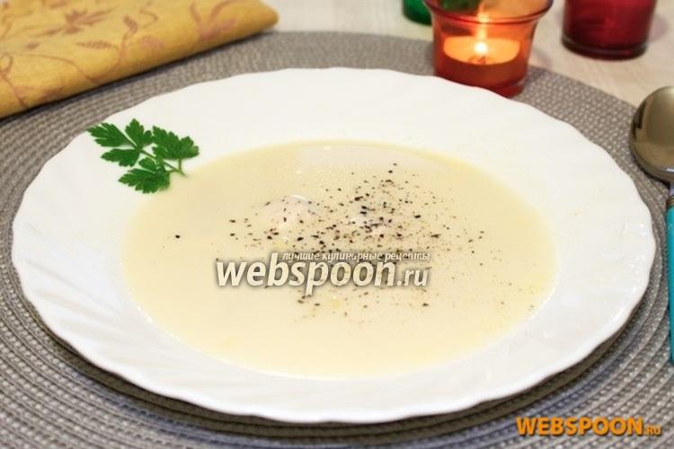 Фото Сырный суп
