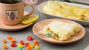 Фото рецепта Творожная запеканка с цукатами