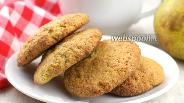 Фото рецепта Песочное печенье с грушей