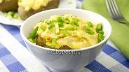 Фото рецепта Картофельное суфле с сыром