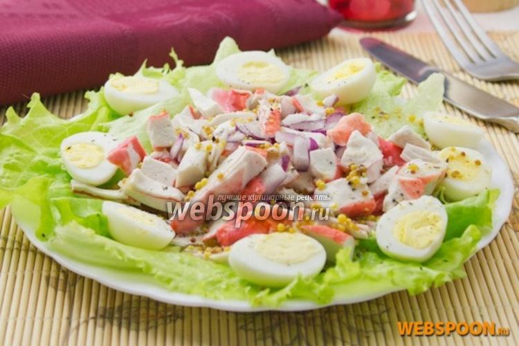 Фото Крабовый салат