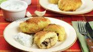 Фото рецепта Зразы картофельные с грибами