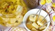 Фото рецепта Маринованный сыр