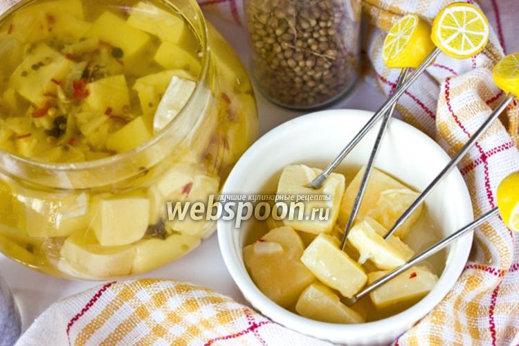 Фото Маринованный сыр