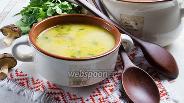 Фото рецепта Грибной крем-суп с сельдереем