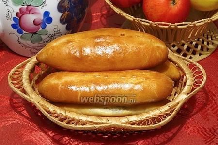 Пирожки с опятами печёные