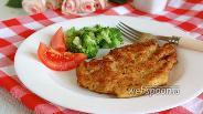 Фото рецепта Куриные отбивные с пармезаном
