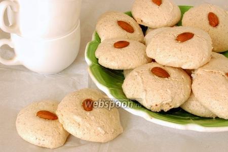 Печенье белковое с миндалем
