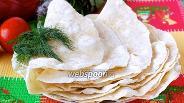 Фото рецепта Мексиканская тортилья