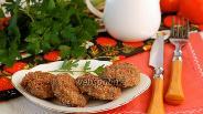 Фото рецепта Котлеты из печёного баклажана