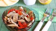 Фото рецепта Шампиньоны быстрые с перцем