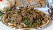 Фото рецепта Жаркое из свинины с грибами