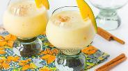 Фото рецепта Молочный коктейль с манго и корицей
