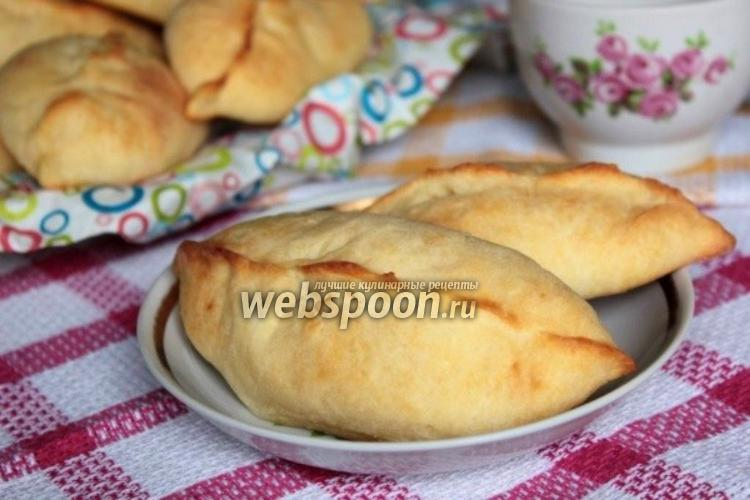 Фото Творожные пирожки печёные