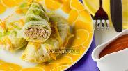Фото рецепта Голубцы из пекинской капусты