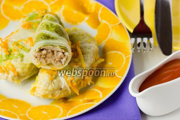 Фото Голубцы из пекинской капусты