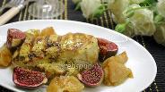 Фото рецепта Куриное филе с инжиром
