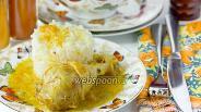 Фото рецепта Куриные голени в мангово-сливочном соусе