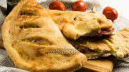 Фото рецепта Фугас с помидорами и сыром